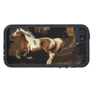 Nuevo arte del Caballo-amante de Worlde del iPhone 5 Cárcasa