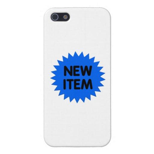 Nuevo artículo azul iPhone 5 protectores