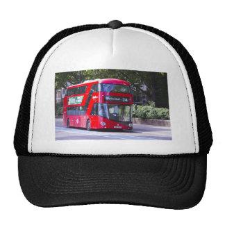 Nuevo autobús del rojo de Londres Gorro