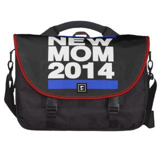 Nuevo azul de la mamá 2014 bolsas para portátil