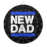 Nuevo azul del papá tabla dardos