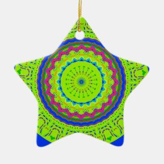 Nuevo azulverde linear ornaments para arbol de navidad