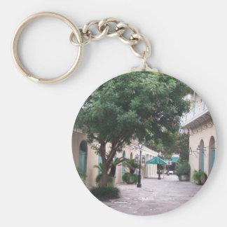 Nuevo barrio francés de Orleasn Llavero Redondo Tipo Pin