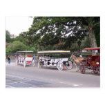 Nuevo barrio francés de Orleasn Postales