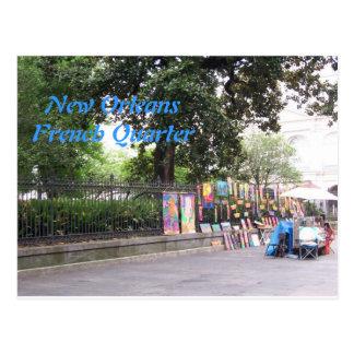 Nuevo barrio francés de Orleasn Postal