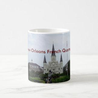 Nuevo barrio francés de Orleasn Tazas