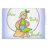 Nuevo bebé Brother Tarjetón