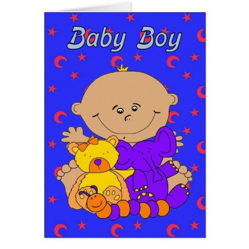 Nuevo bebé de la tarjeta nuestra nueva invitación