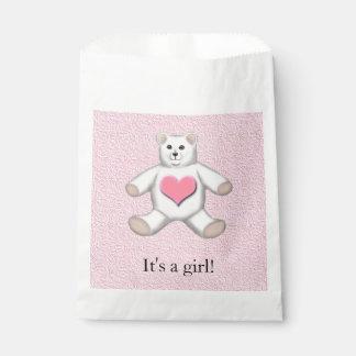 Nuevo bebé es bolsos del chica de un favor de