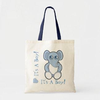 Nuevo bolso de la mamá del dibujo animado del elef bolsa tela barata
