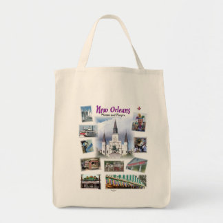 Nuevo bolso de Orlans-Places&People Bolsas Lienzo