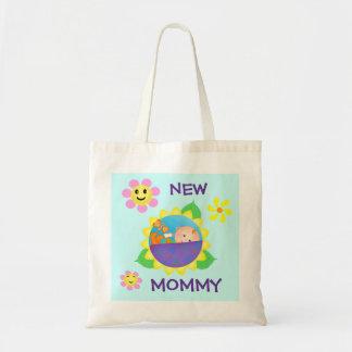 Nuevo bolso del regalo de la mamá/de la mamá bolsa tela barata