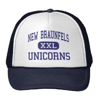 Nuevo Braunfels - unicornios - alto - nuevo Braunf Gorras