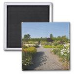 Nuevo Brunswick, Canadá. Jardín de Kingsbrae en el Iman De Frigorífico