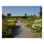 Nuevo Brunswick, Canadá. Jardín de Kingsbrae en el Poster