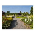 Nuevo Brunswick, Canadá. Jardín de Kingsbrae en el Postal