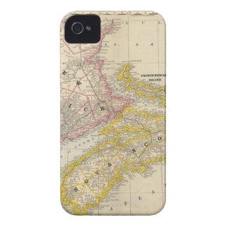 Nuevo Brunswick, Nueva Escocia iPhone 4 Case-Mate Coberturas