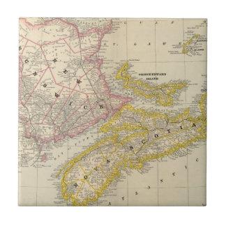 Nuevo Brunswick, Nueva Escocia Teja