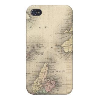 Nuevo Brunswick, Nueva Escocia, Terranova 2 iPhone 4/4S Carcasa