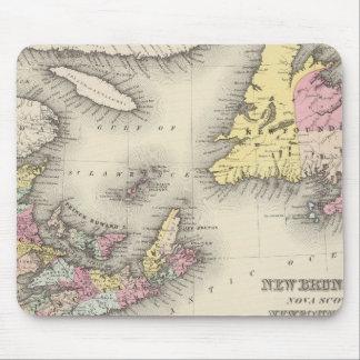Nuevo Brunswick, Nueva Escocia, Terranova Tapete De Raton