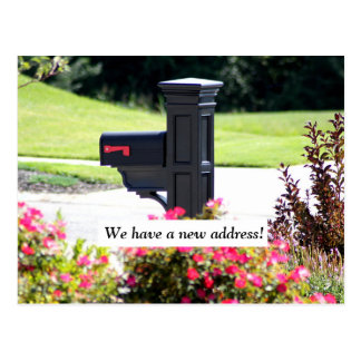 Nuevo buzón de la dirección postales