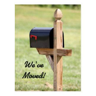 Nuevo buzón de la dirección postal