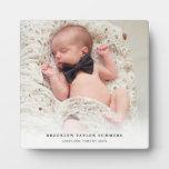 Nuevo caballete de la foto del bebé de la pendient placas con fotos