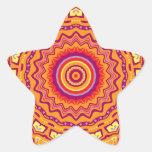 Nuevo caleidoscopio de Priscilla del arte pop Colcomanias Forma De Estrellaes Personalizadas