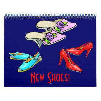 Nuevo calendario 2016 de los zapatos
