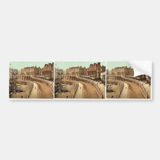 Nuevo camino, Ramsgate, Inglaterra Photochrom magn Pegatina De Parachoque