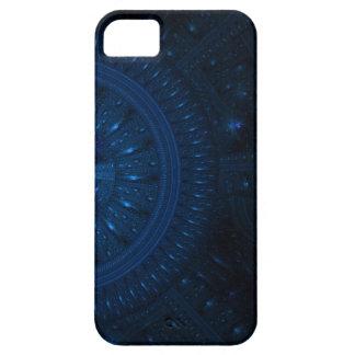 NUEVO caover de la rueda de iphone5 Fractral Funda Para iPhone 5 Barely There