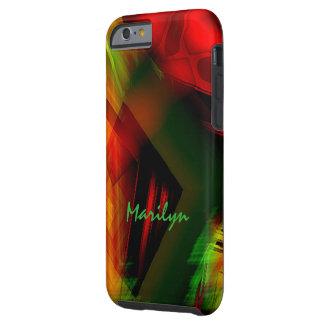 Nuevo caso del iPhone del modelo coloreado de Funda Para iPhone 6 Tough
