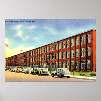 Nuevo castillo, planta de Indiana Chrysler Impresiones