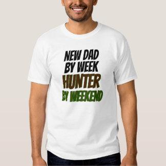 Nuevo cazador del papá playera
