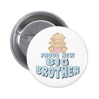 Nuevo chica orgulloso de hermano mayor pin