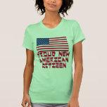 Nuevo ciudadano americano orgulloso camisetas