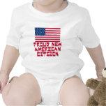 Nuevo ciudadano americano orgulloso trajes de bebé