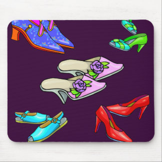 Nuevo cojín de ratón de los zapatos alfombrillas de ratones