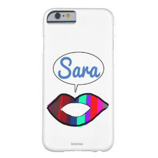 nuevo coll de Sara Funda Para iPhone 6 Barely There