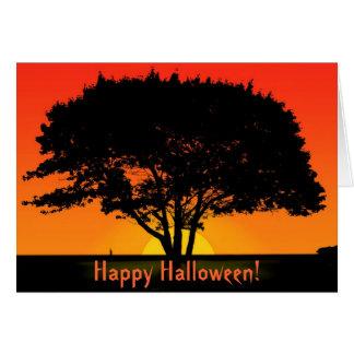 ¡Nuevo comienzo, feliz Halloween! Tarjeta De Felicitación