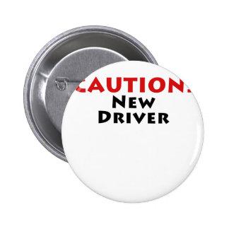 Nuevo conductor de la precaución pin redondo 5 cm