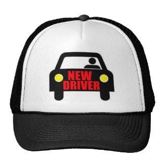 Nuevo conductor gorros bordados
