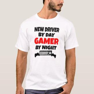 Nuevo conductor por videojugador del día por noche playera