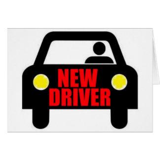 Nuevo conductor tarjeta