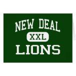 Nuevo contrato - leones - High School secundaria - Felicitaciones