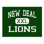 Nuevo contrato - leones - High School secundaria - Tarjetas Postales
