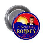Nuevo día de Romney RNC Pins
