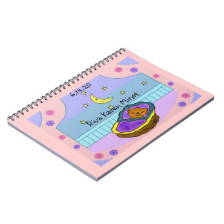Nuevo diario del recuerdo del bebé cuaderno