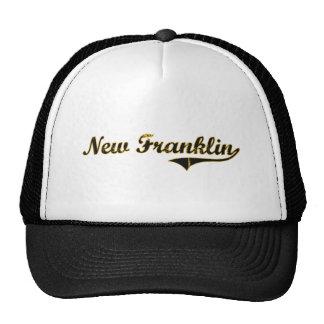 Nuevo diseño clásico de Franklin Missouri Gorras