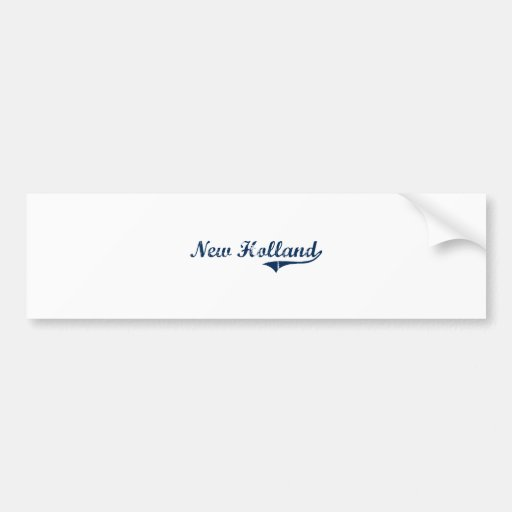 Nuevo diseño clásico de Holanda Pennsylvania Etiqueta De Parachoque